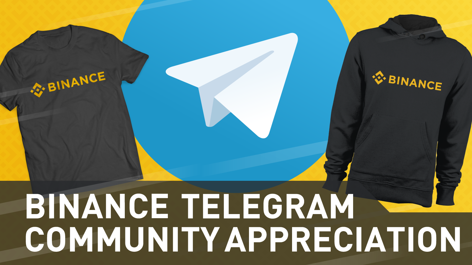 Binance Telegram Community Promo | Binance Blog