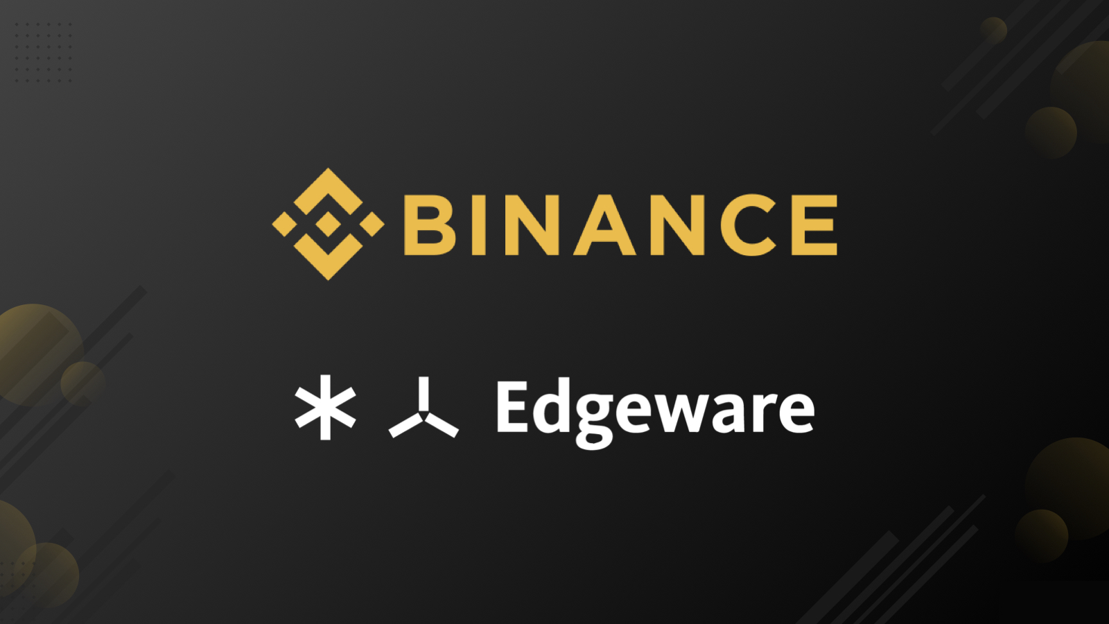 Did You Hold ETH on Binance? Congratulations, You'll Get
