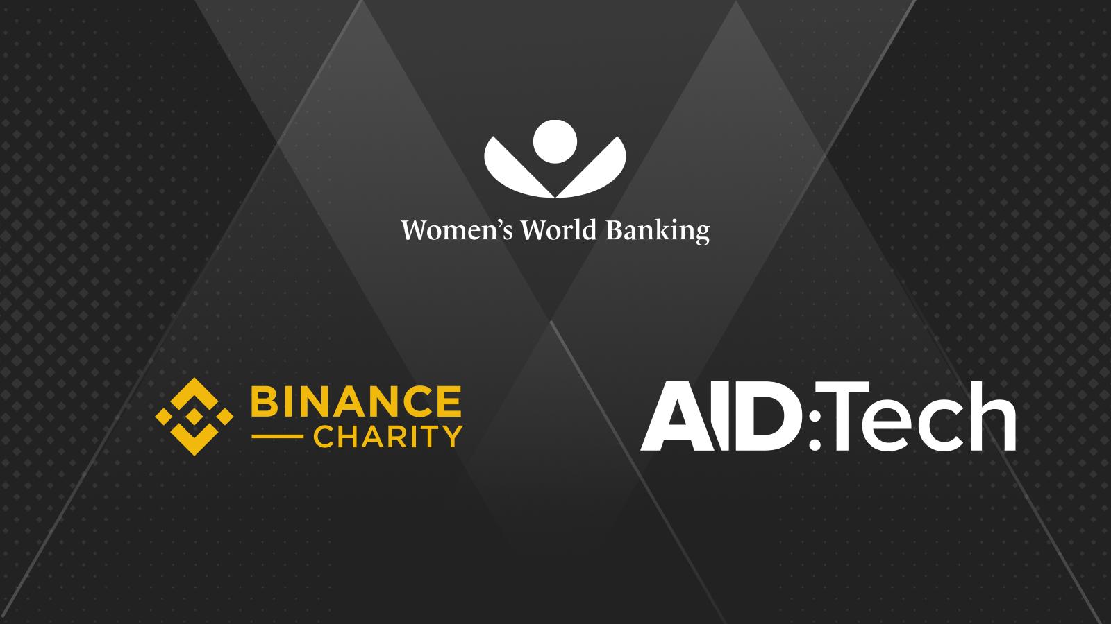 Binance BCF hợp tác với women's world banking và aid:tech