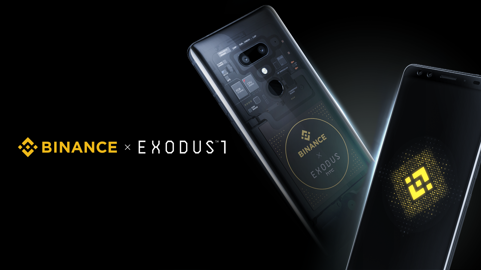 HTC exodus Binance edition crypto smartphone