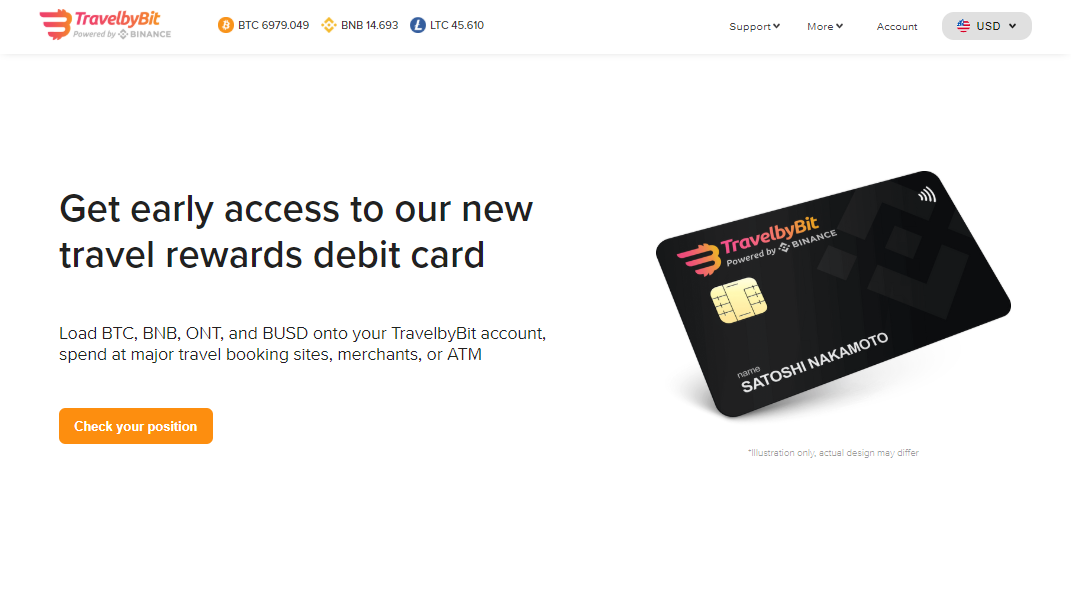 Binance hợp tác với TravelbyBit ra mắt thẻ tích điểm thưởng du lịch bằng tiền mã hoá