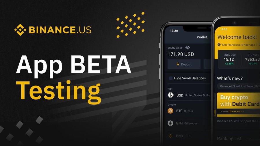 Thử nghiệm phiên bản beta của Binance.US