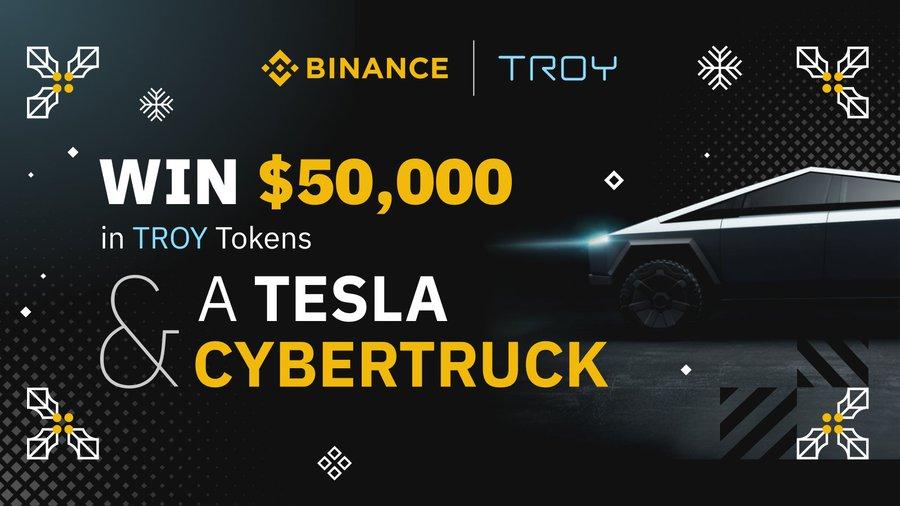 Cuộc thi giao dịch TROY: Nhận được Tesla Cybertruck