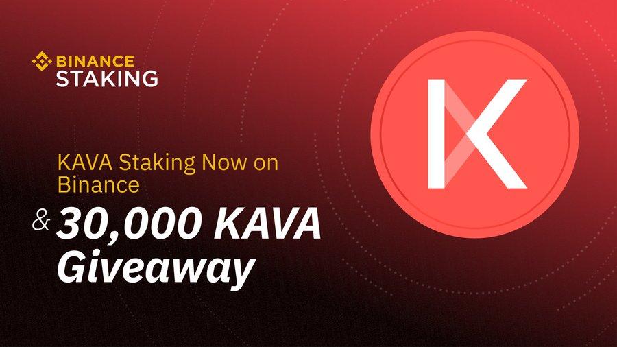 Binance Stakes hỗ trợ KAVA