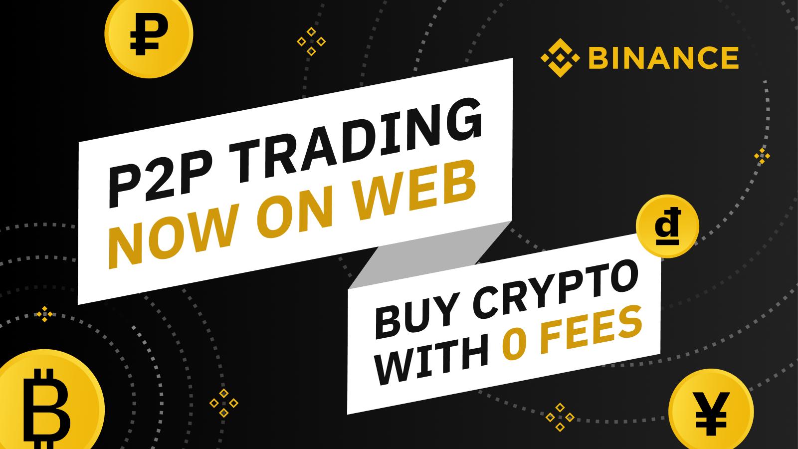 Binance lanza el trading Peer-to-Peer en la web y la aplicación ...
