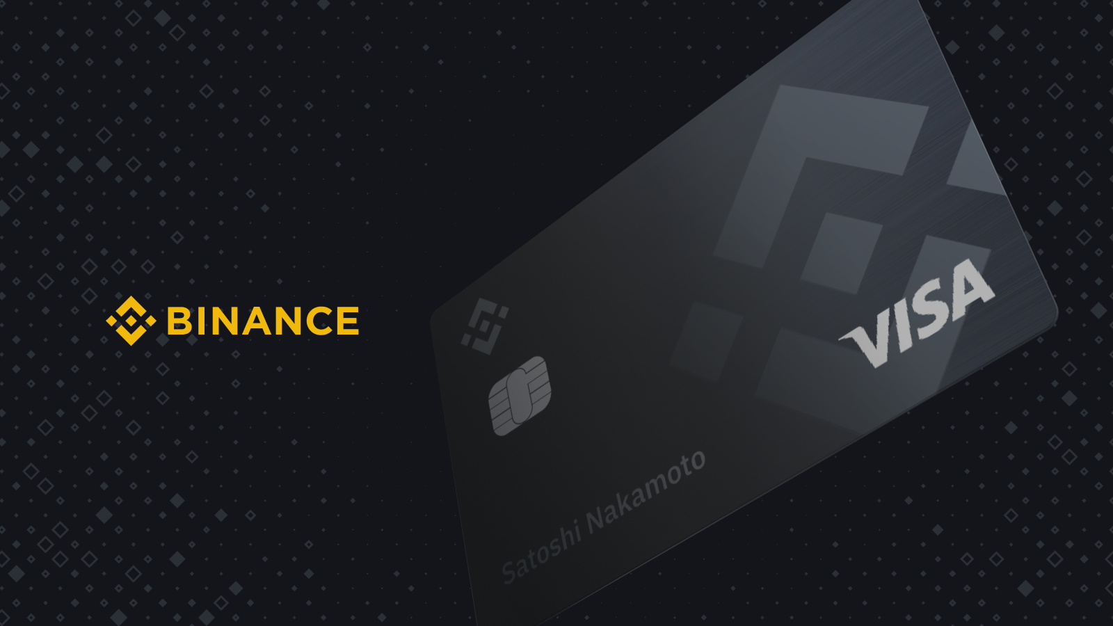 binance + visa