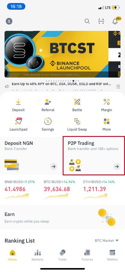 cara trading bitcoin di binance bitcoin trading wie funktioniert es