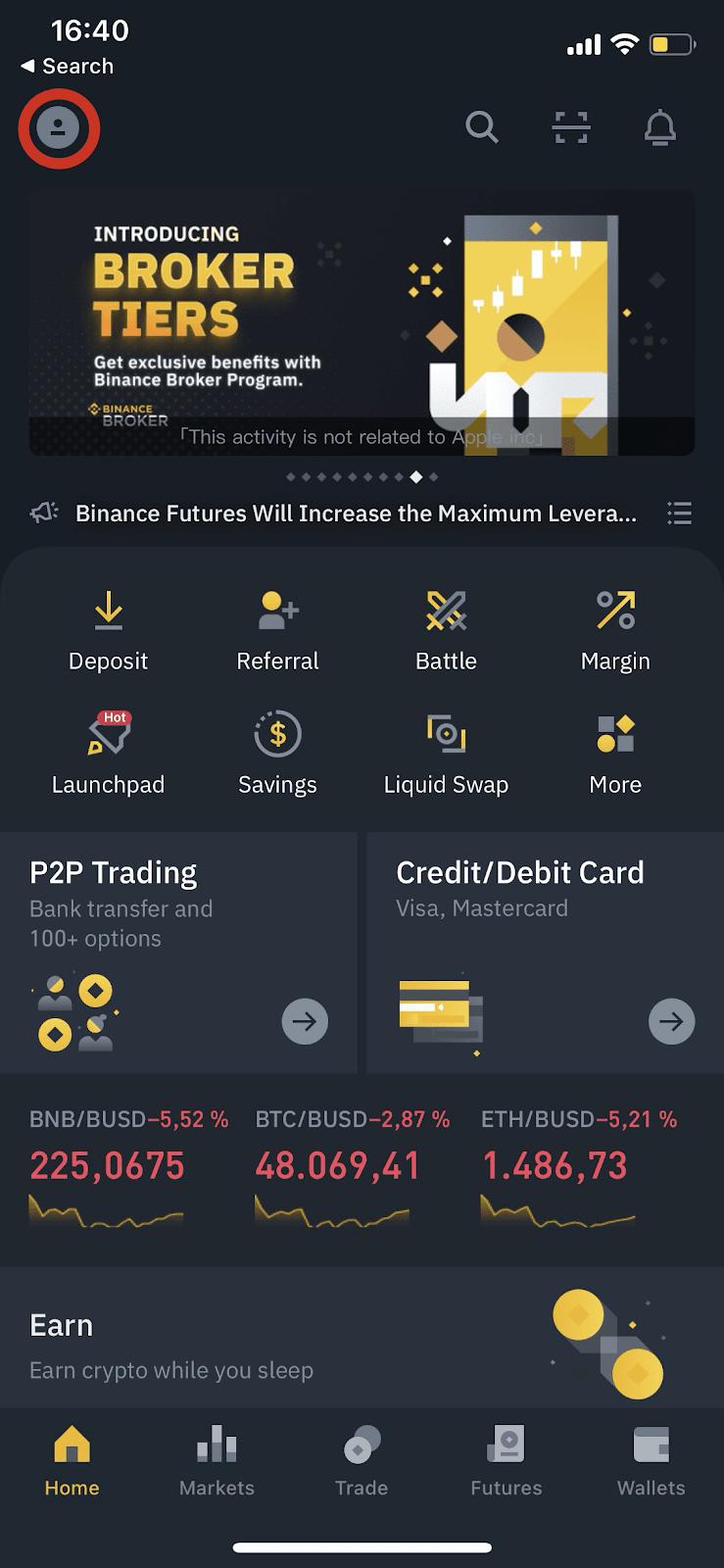 bitcoin investicijų profle