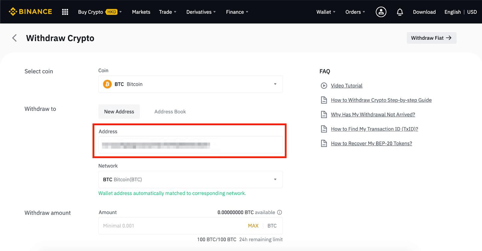 come il commercio con bitcoin sul binance