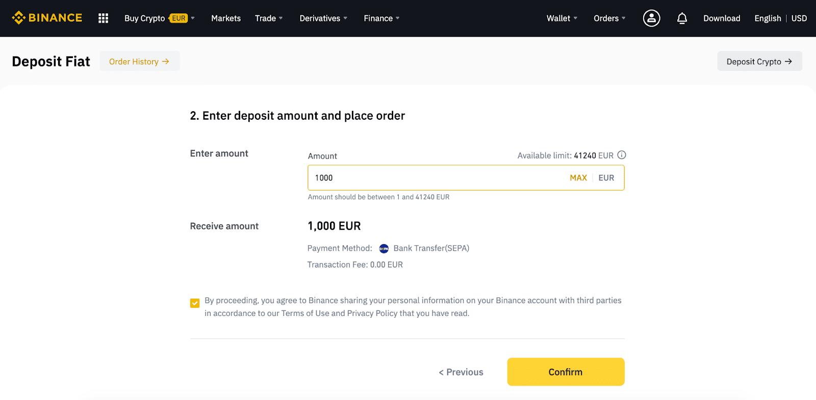 Acquista Bitcoin con Bonifico bancario