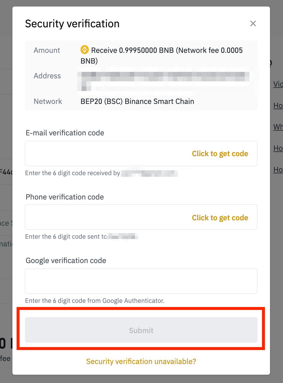 Was kann ich tun, wenn ich eine Auszahlung an eine falsche Adresse getätigt habe