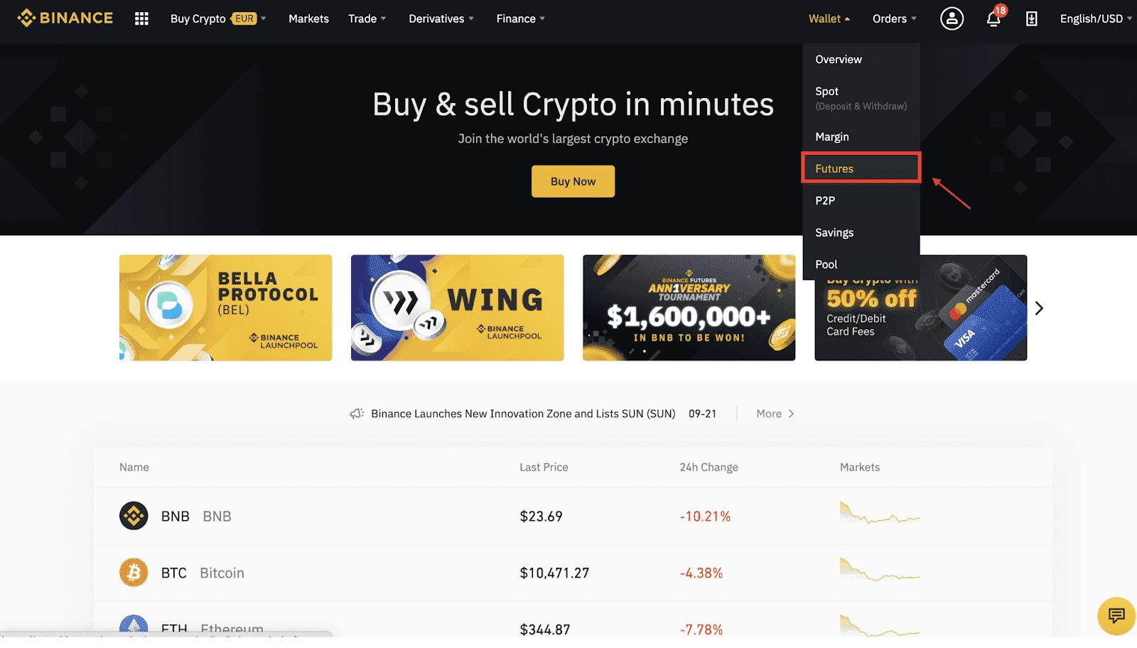 come il commercio ethereum a bitcoin su binance)