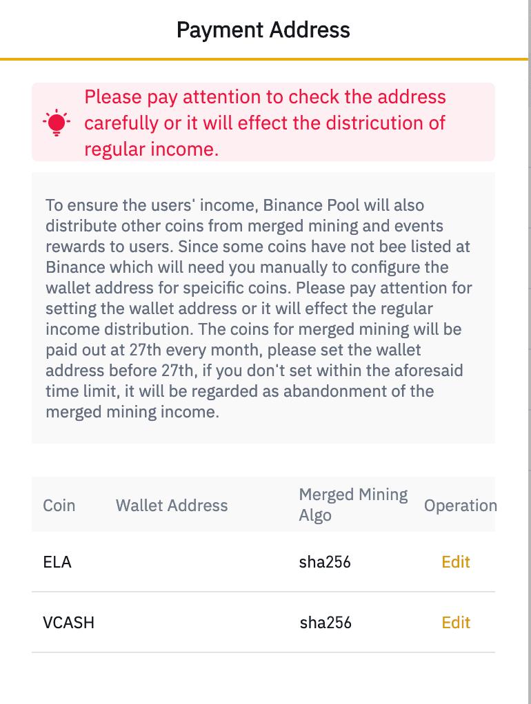 binance bitcoin indėlių adresas tuščias carteira fisica bitcoin