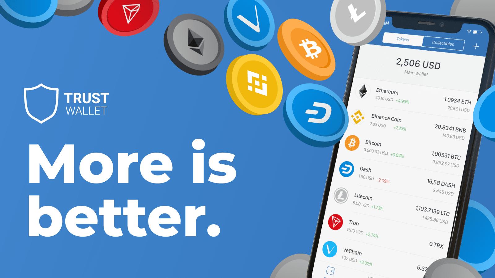 Trust Wallet 2.0: Satu Aplikasi Untuk Semua Crypto Anda | Blog Binance