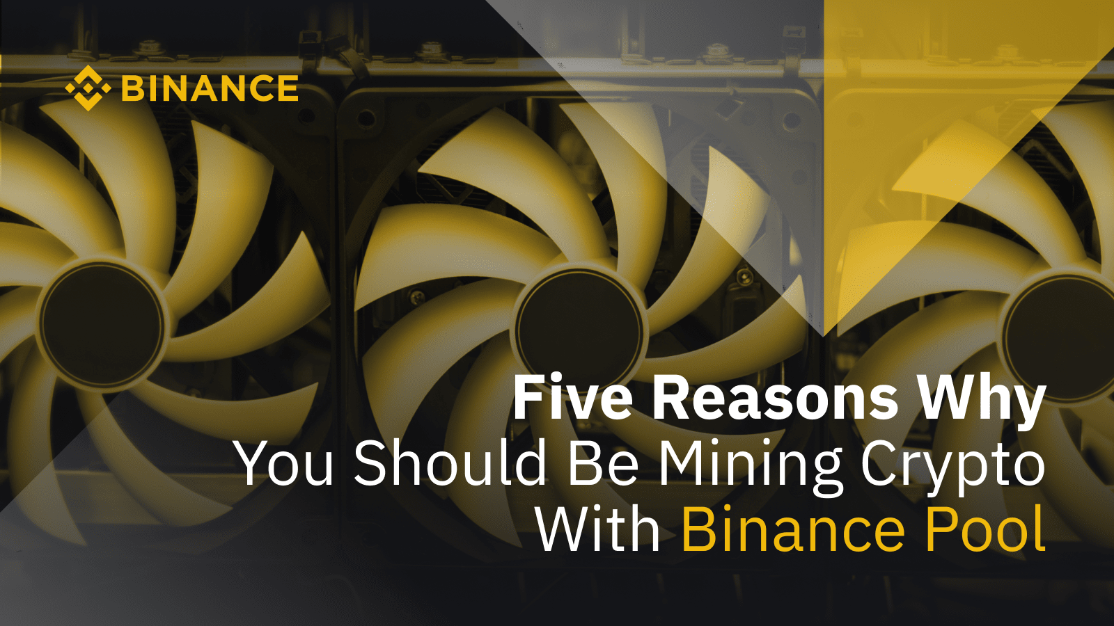 Five Reasons Why You Should Be Mining Crypto With Binance PoolCryptocurrency Trading Signals, Strategies & Templates | DexStrats