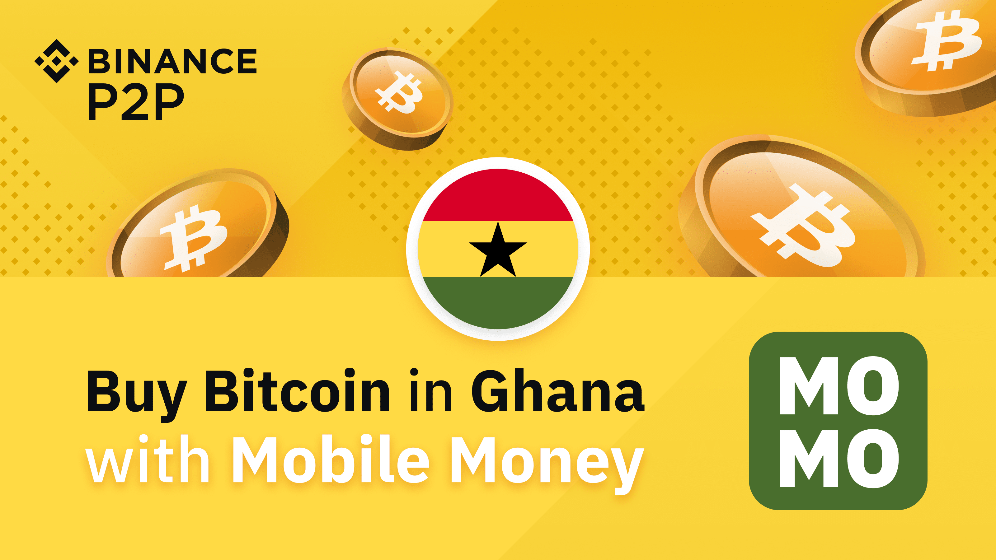 Binance P2P: Buy Bitcoin in Ghana with Mobile Money ...