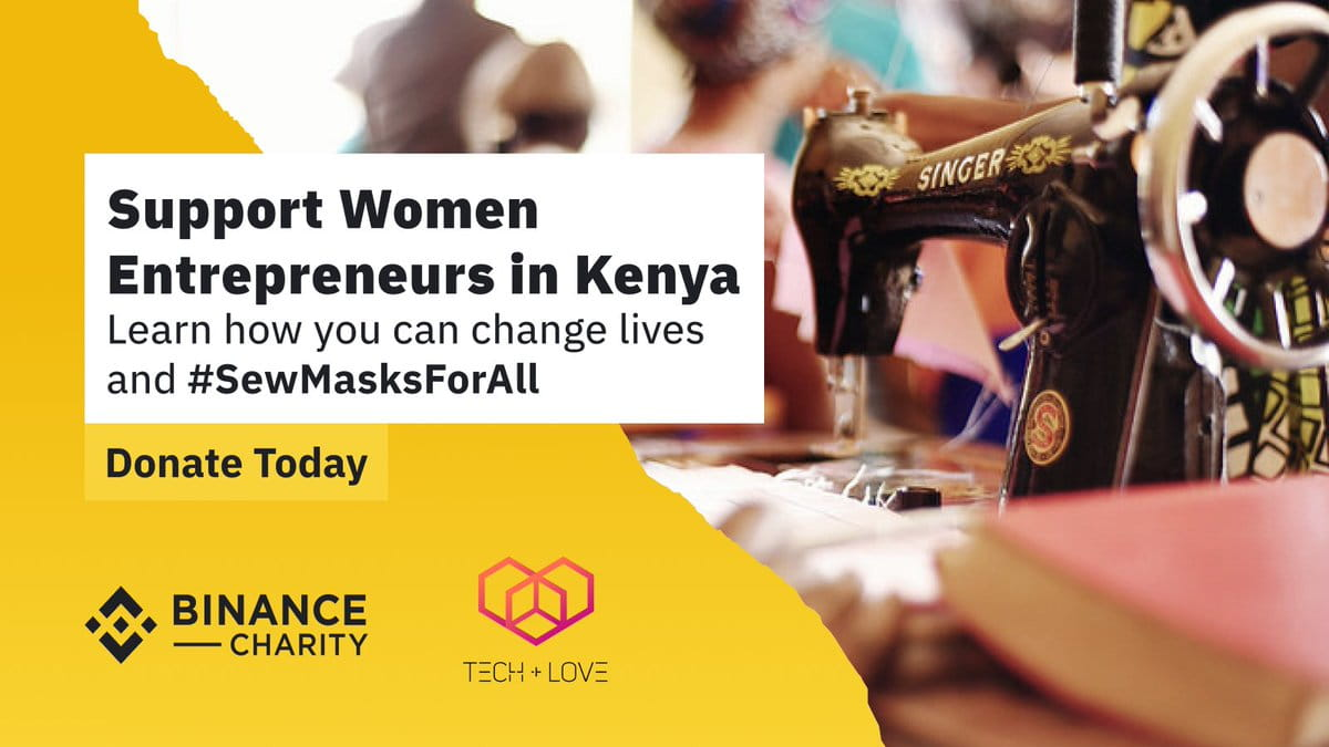 Binance Charity #SewMasksForAll Campaign To Empower Kenyan WomenCryptocurrency Trading Signals, Strategies & Templates | DexStrats