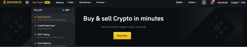 как купить крипту на бинансе
