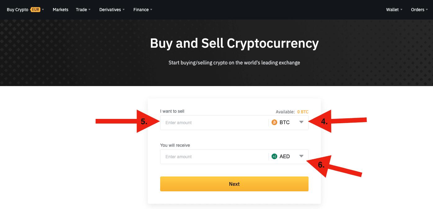 Cómo vender Bitcoin, Ethereum, Doge y otras criptomonedas en Binance