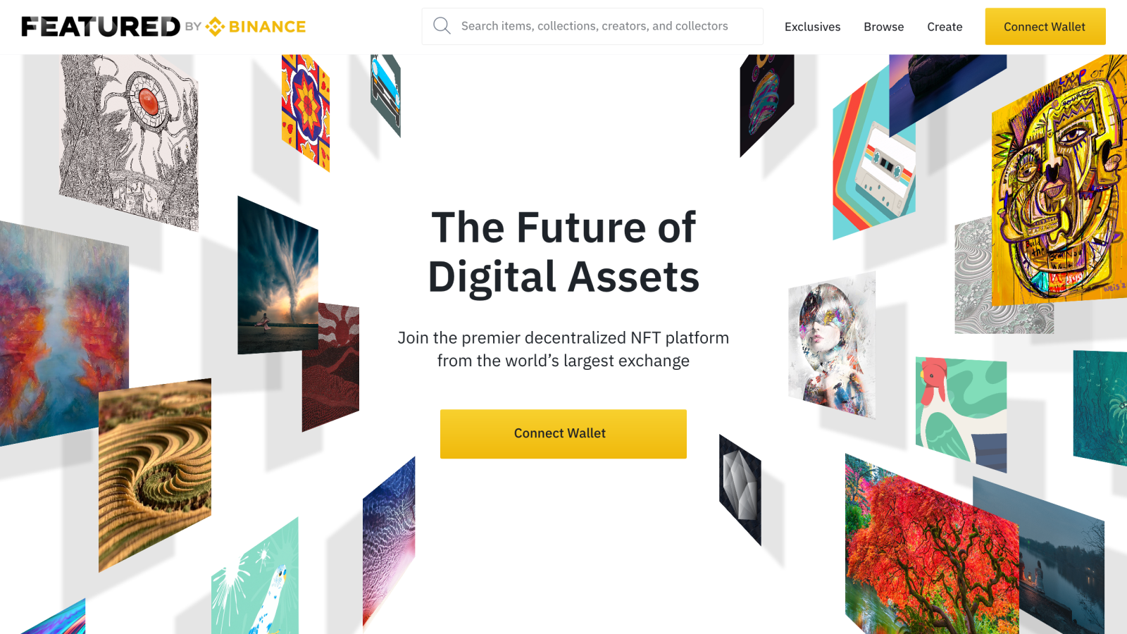 """Introducing """"Featured by Binance"""": A Decentralized NFT Platform From Binance Cryptocurrency Trading Signals, Strategies & Templates   DexStrats"""