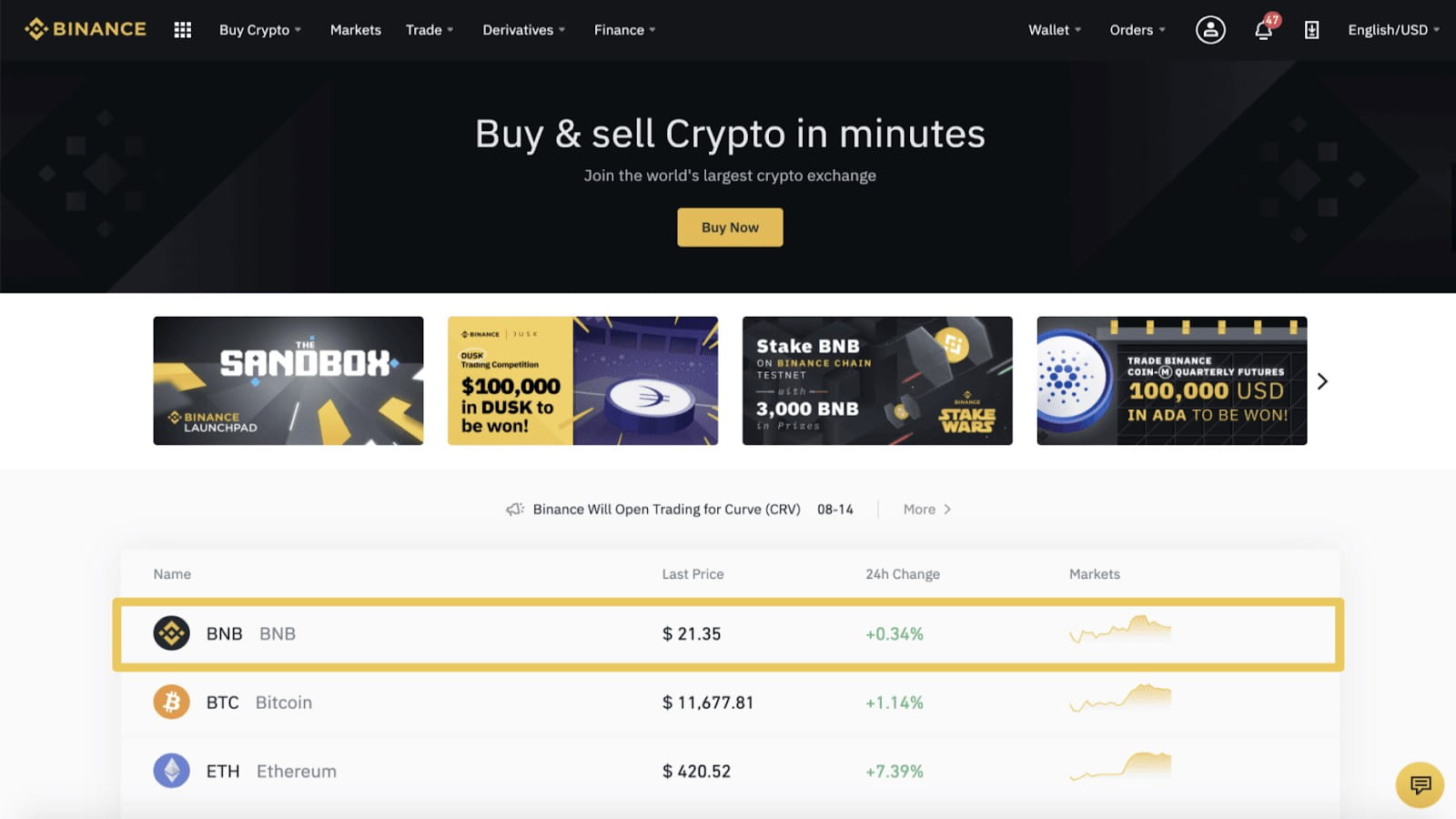 come il commercio bitcoin in binance)