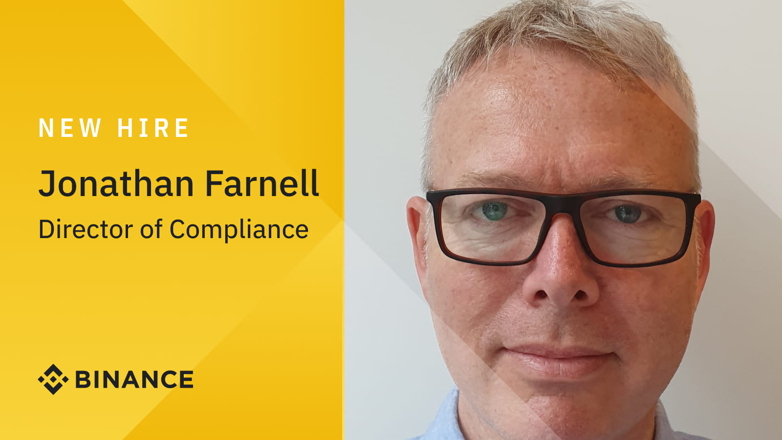 Binance Bolsters European Compliance Team with Hire of Jonathan FarnellCryptocurrency Trading Signals, Strategies & Templates | DexStrats