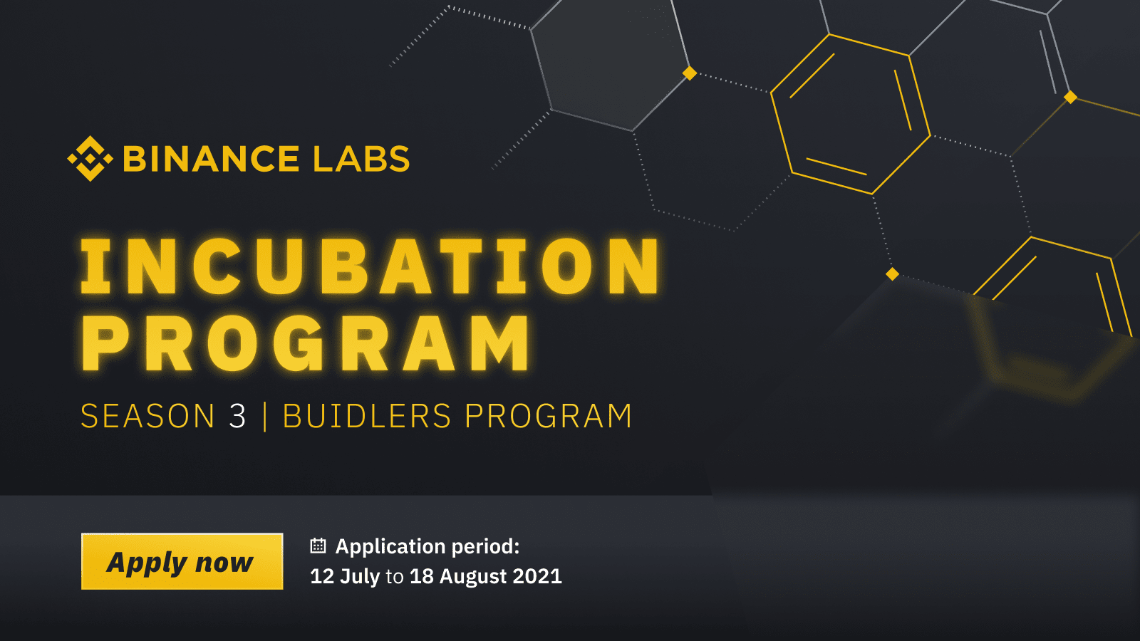 Apply Now for Season 3 of the Binance Incubation ProgramCryptocurrency Trading Signals, Strategies & Templates   DexStrats