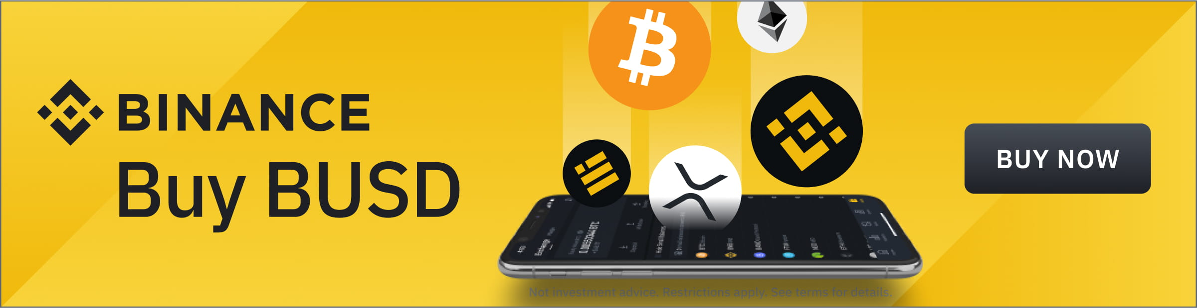 BUSD Reaches $10B Market Cap Milestone and Enters Top 10 Crypto RankingsCryptocurrency Trading Signals, Strategies & Templates | DexStrats
