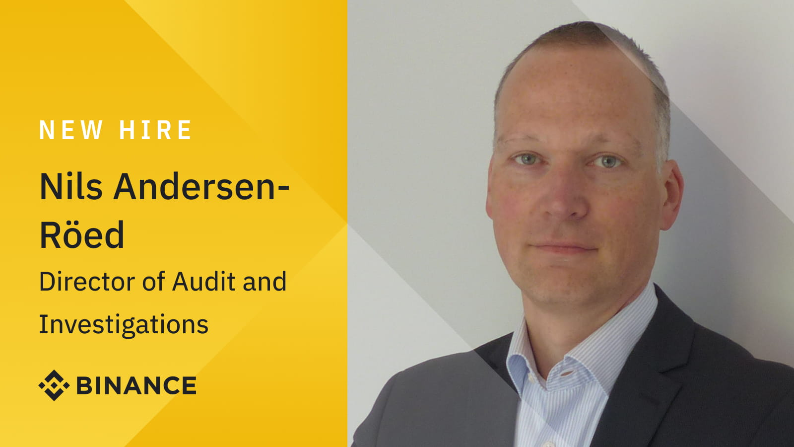 Nils Andersen-Röed joins Binance from Europol to further strengthen investigations and audit team   Binance Blogon October 8, 2021 at 6:39 am
