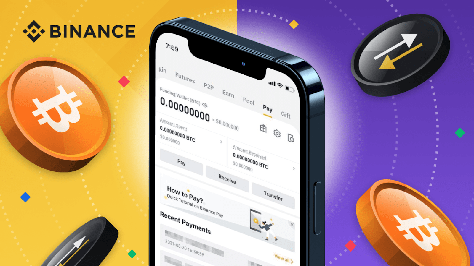 Cash to Crypto: How to Top Up Crypto On Your Binance Pay via Fiat Channels