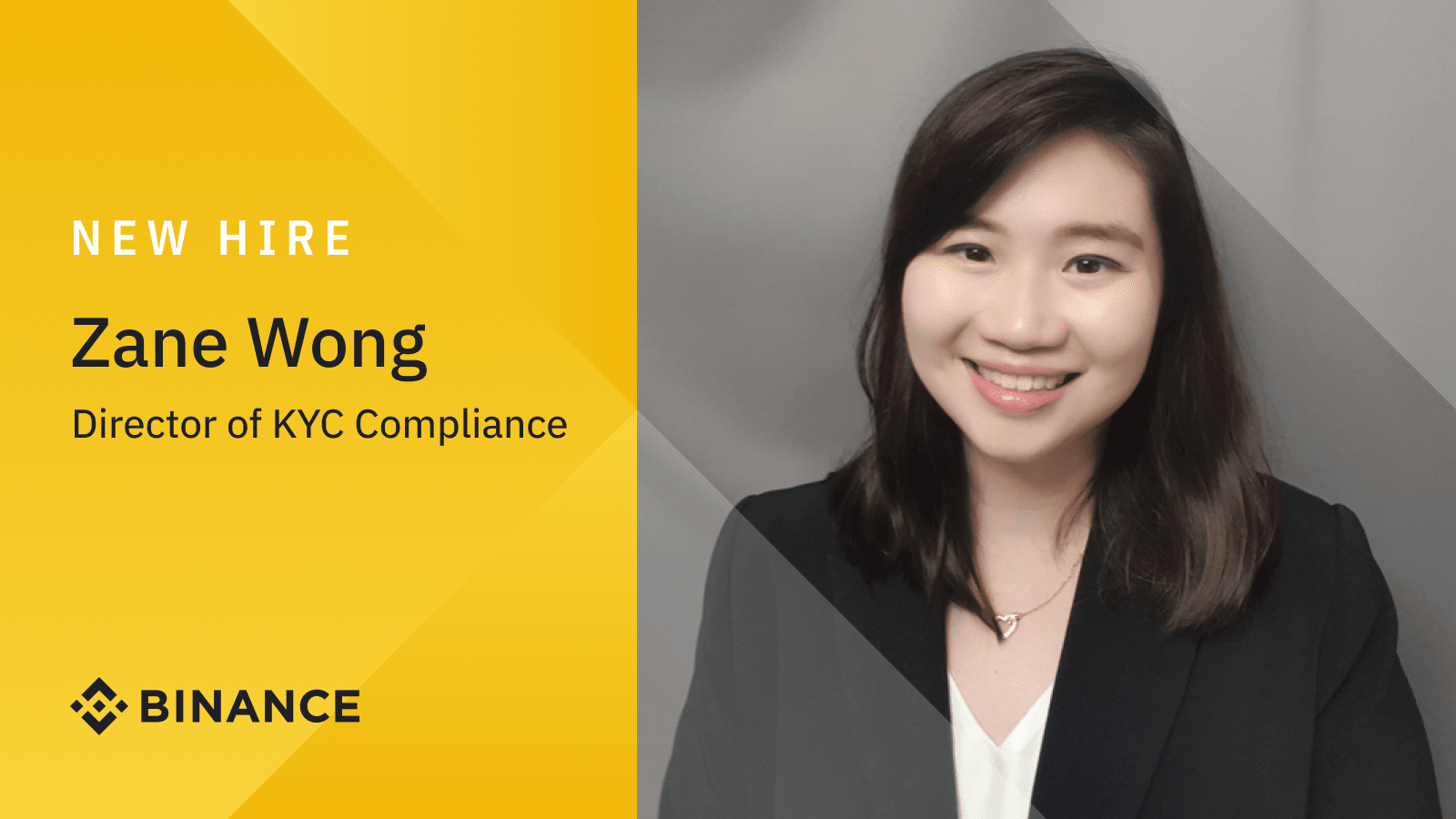 Binance Appoints Zane Wong as Director of KYC Compliance   Binance Blogon October 8, 2021 at 6:39 am