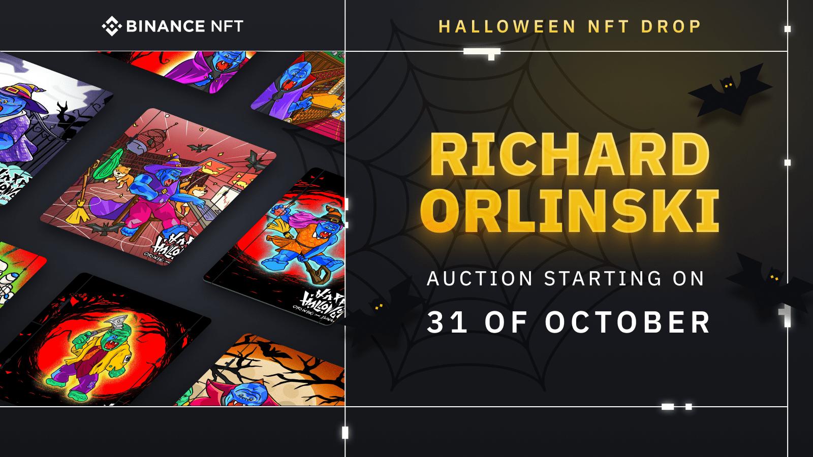 Binance NFT: Exclusive Orlinski x Binance Halloween Auction