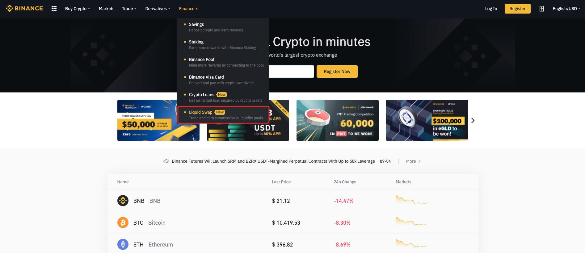 come scambiare bitcoin per ondulazione su binance