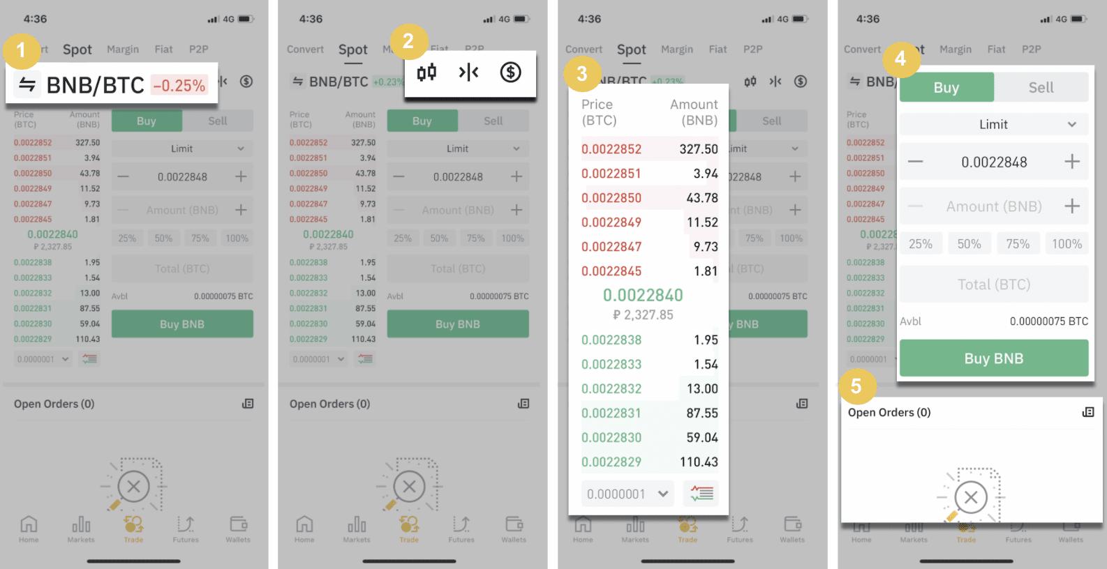 come usare bitcoin app