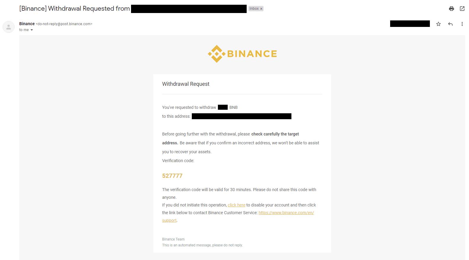 binance btc retragere bitcoin brokin