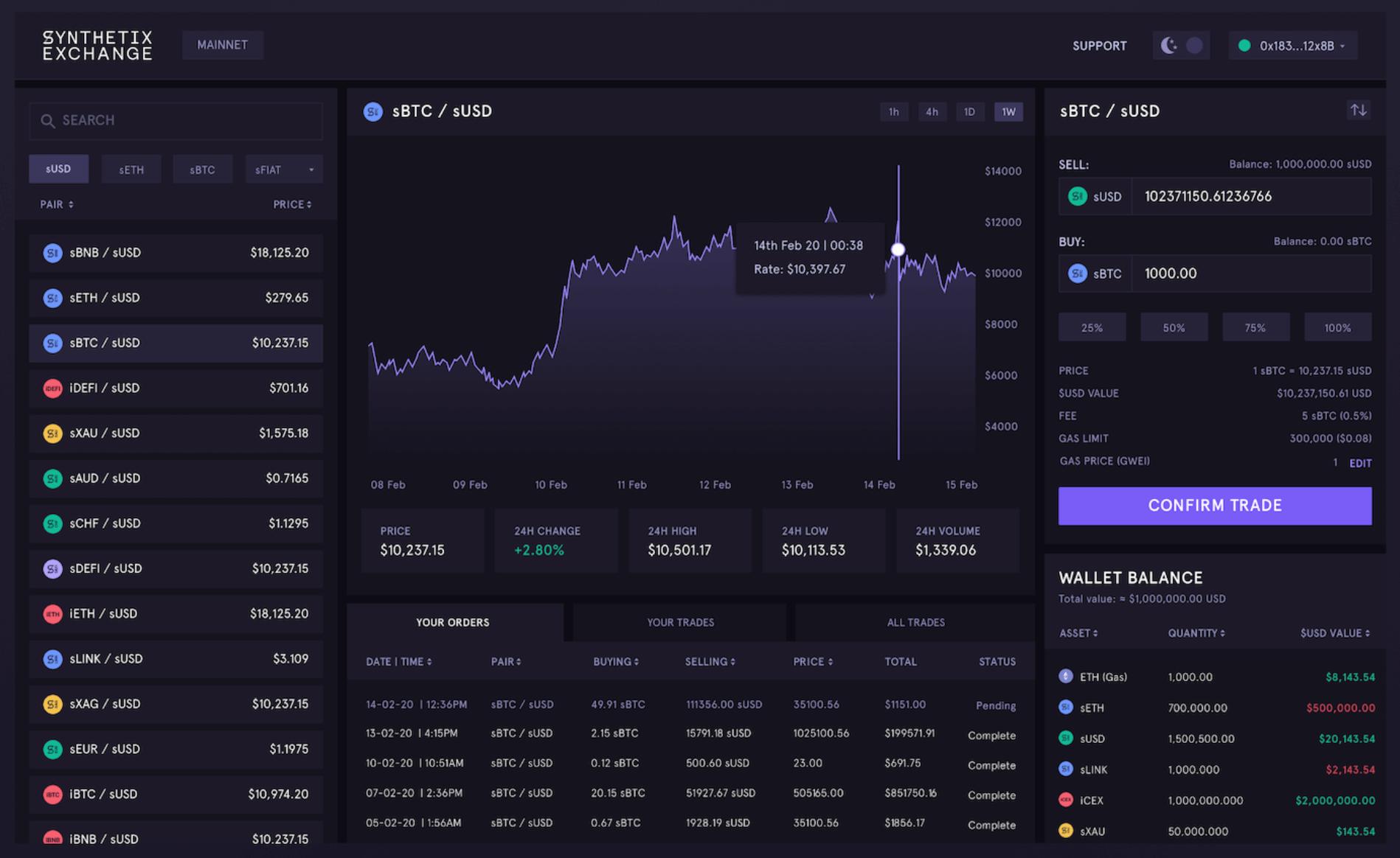 SNX_Exchange